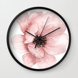 Flower 21 Art Wall Clock