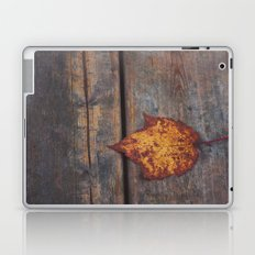 vintage leaf. Laptop & iPad Skin