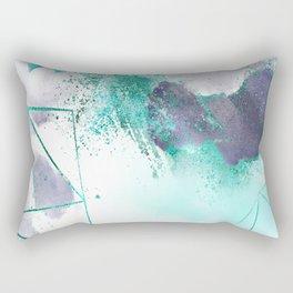 Azure mystique Rectangular Pillow