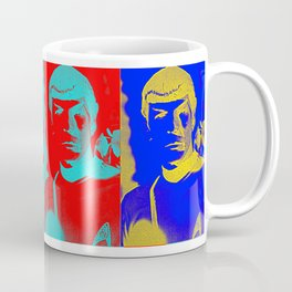 Science Officer Spock (Andy Warhol Remix) Coffee Mug