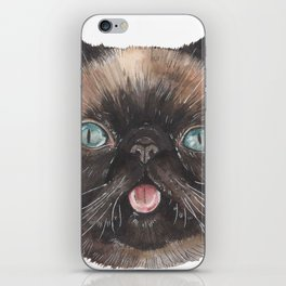 Der the Cat - artist Ellie Hoult iPhone Skin