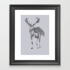 The Peryton Framed Art Print