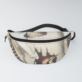 Naturalist Woodpeckers Fanny Pack