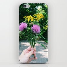 Wildflower Bouquet iPhone & iPod Skin