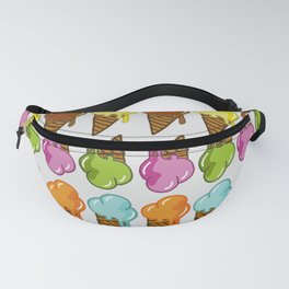 ice cream craze Fanny Pack