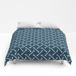 Its Going Tibia Okay - Dem Bones in Blue Comforters