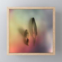 FEATHER & COMPANY Framed Mini Art Print