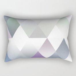Silver Triangels N.2 Rectangular Pillow
