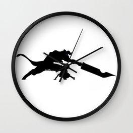 Anime Kirito Inspired Shirt Wall Clock