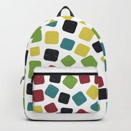 Multicoloured Gummies Pattern (Sweets) Backpack