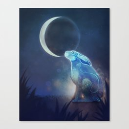 Moongazer Canvas Print