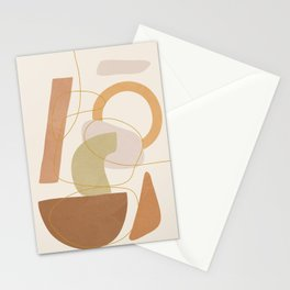 Abstract Modern Art 17 Stationery Cards