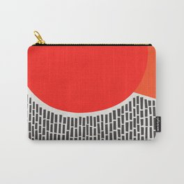 Sunshine And Rain Abstract Carry-All Pouch