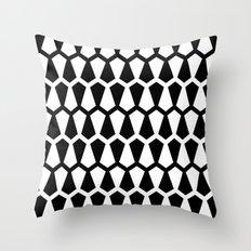 Graphic_Black&White #5 Throw Pillow