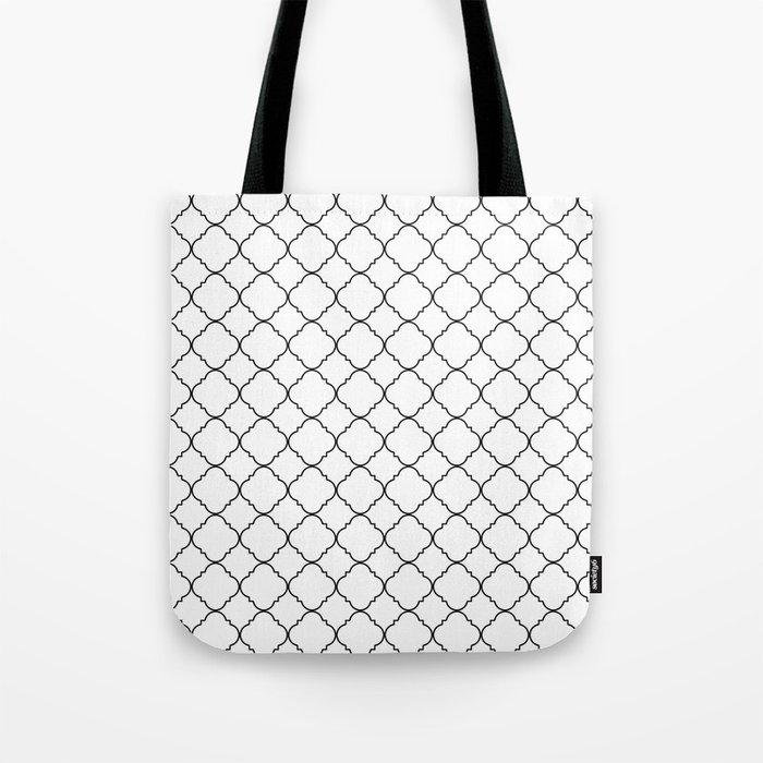 Minimalist Moroccan Tote Bag