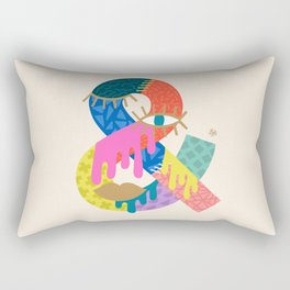 Another Ampersand Rectangular Pillow