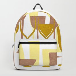 Mid-Century Modern Abstract Celebration Backpack