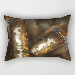 Night Writings 2 Rectangular Pillow