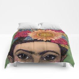 Vibrant Frida Comforters