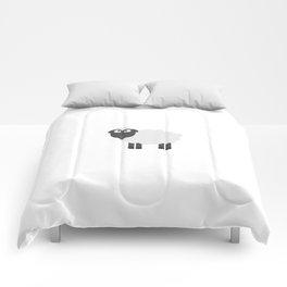 Cute female Sheep Comforters