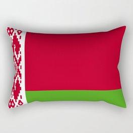 Belarus flag emblem Rectangular Pillow