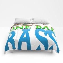 One Bad Ass Bass Comforters