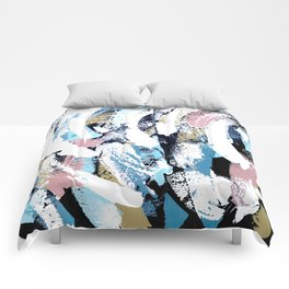 Abstract Clara Comforters