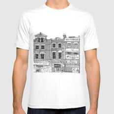 New Cross, London Mens Fitted Tee White MEDIUM