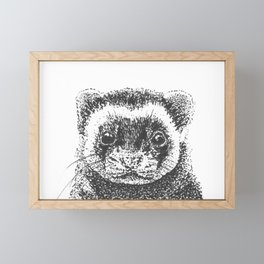 All Is Ferret In Love and War Framed Mini Art Print