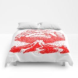 Volcano - Red Comforters