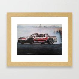 Drifting Car I Framed Art Print