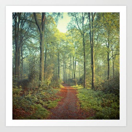 Morning Walk Art Print