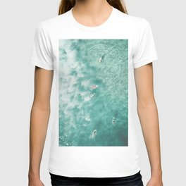 Surfing in the Ocean T-shirt
