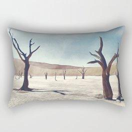 deadvlei desert trees acrfn Rectangular Pillow
