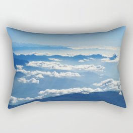 Mountains and Clouds in Nepal Rectangular Pillow