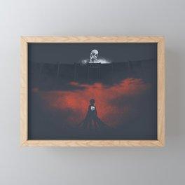 Attack On Titan Moment Framed Mini Art Print