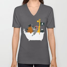 Everybody wants to be the pirate Unisex V-Neck
