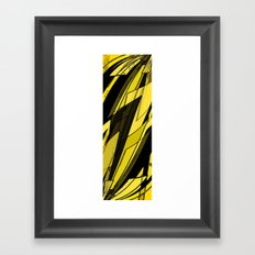 Speed of Light Framed Art Print