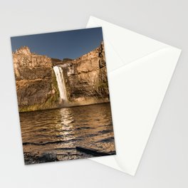 Desert Waterfall - Summer In Palouse Stationery Cards