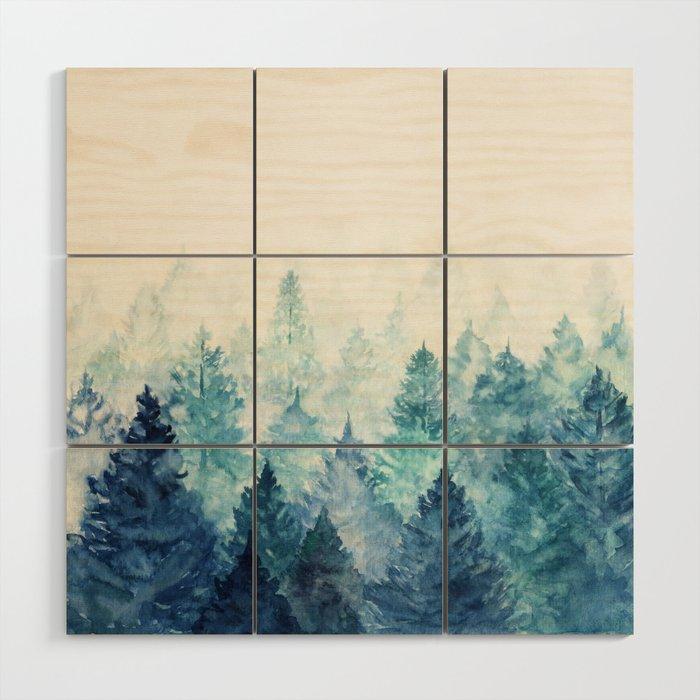 Fade Away Wood Wall Art