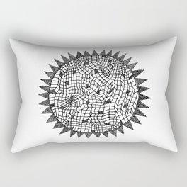 Sun or Star Rectangular Pillow