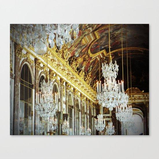 Galerie des Glaces Canvas Print