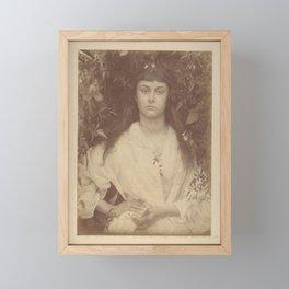 Pomona by Julia Margaret Cameron,1872 Framed Mini Art Print