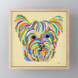 Yorkshire Terrier - YORKIE! Framed Mini Art Print