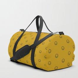 Smile Pattern Duffle Bag
