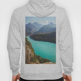 Brilliant Blue Diablo Lake Hoody