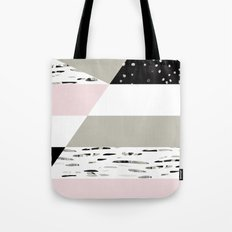 Birch Lines Pillow Tote Bag