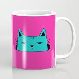 This moody cat wants to hide Coffee Mug