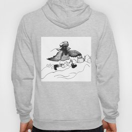 A Raven with a strict wife Hoody