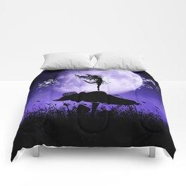 Fairy Silhouette 2 Comforters